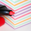 Red pen — Stock Photo