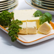 Butter and parsley — Foto Stock