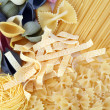 Pasta composition - Stock Photo
