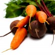 Carrot and beet — Stock Photo