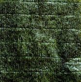 An image of green leaf of dried nori — Stock Photo