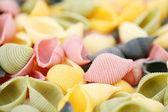 Colorfull pasta — Stockfoto