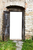 Door of fortress — Stock Photo