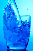 Blue drink — Stock Photo