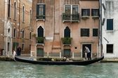Gondolier in Venice — Stock Photo