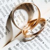 Twee ringen — Stockfoto