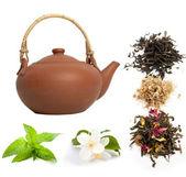 Chá verde — Fotografia Stock
