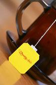 étiquette de thé — Photo