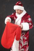Christmass-bag — Stock fotografie