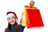 Three christmas gifts — Stock Photo