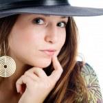 Girl in hat — Stock Photo #8647287