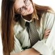 Stock Photo: Girl in glasses
