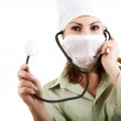 Doctor in mask — Stock Photo #8648364