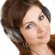 Relax with music — Stock Photo