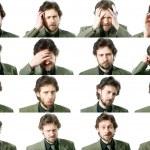 Facial expressions — Stock Photo