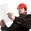 Comstruction foreman — Stock Photo