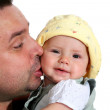 Happy father with child — Stock Photo #8659178