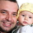 Parent with baby — Stock Photo