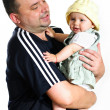 Happy father with girl — Stock Photo