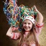 Playful girl — Stock Photo
