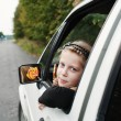 Girl in car — Stock Photo #8660062