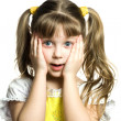 Surprised girl — Stock Photo #8660349