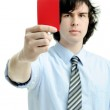 Red card — Stock Photo #8663141