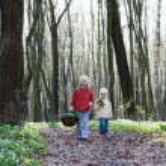 Children in the park — Stock Photo