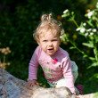 Baby-girl outdoors — Stock Photo #8664968