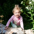 Cute baby outdoors — Stock Photo #8664969