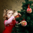 Decorating a tree — Stock Photo #8664986