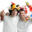 Two fans — Stock Photo