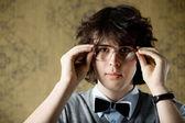 Man in glasses — Stock Photo