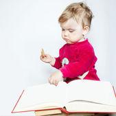 Kitap okuma — Stok fotoğraf