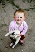 Happy baby-girl — Stock Photo