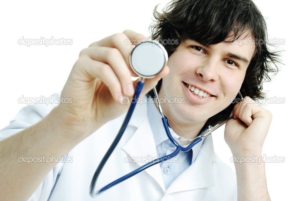 Young doctor — Stock Photo #8663281