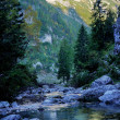 River in mountains — Photo