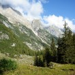 Mountain landscape in the italian alps — Foto de Stock
