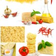 Stock Photo: italian food