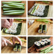 Cooking sushi — Stock Photo #9363468