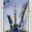 "Launch vehicle ""Soyuz"" — Stock Photo"