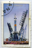 "Launch vehicle ""Soyuz"" — Stockfoto"