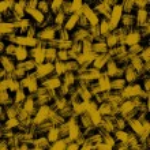 Background brushstroke yellow — Stock Photo