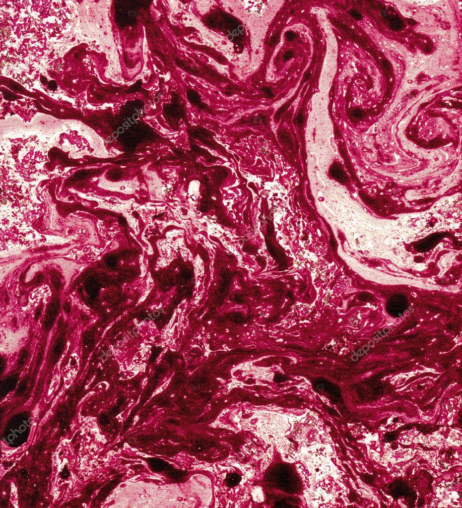 Мрамор из краски