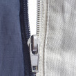 Stock Photo: Opened zipper
