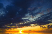 Evening sky background. — Stock Photo