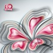 Abstract flower — Vector de stock