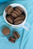 French macarons (macaron) — Stock Photo
