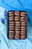 Traditional french macarons (macaron) — Stock Photo