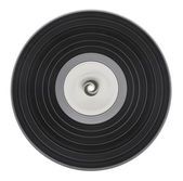 Old vinyl record isolated — Stock Photo